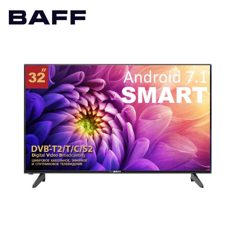 Телевизор SMART BAFF 32 STV-ATSr, DVBT2, матрица А класса (IPS), HD, Android 7/1, 3*HDMI, 2*USB, 16:9