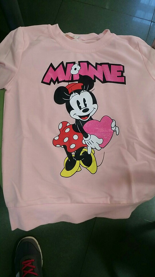 Camisetas meninos meninas mickey