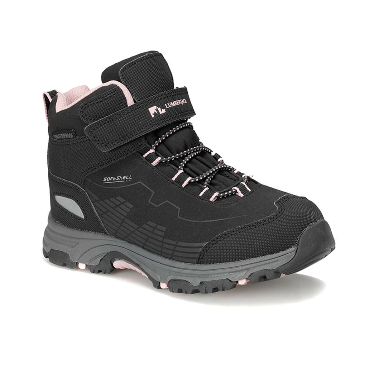 FLO CHAMP HI 9PR Black Female Child Boots LUMBERJACK