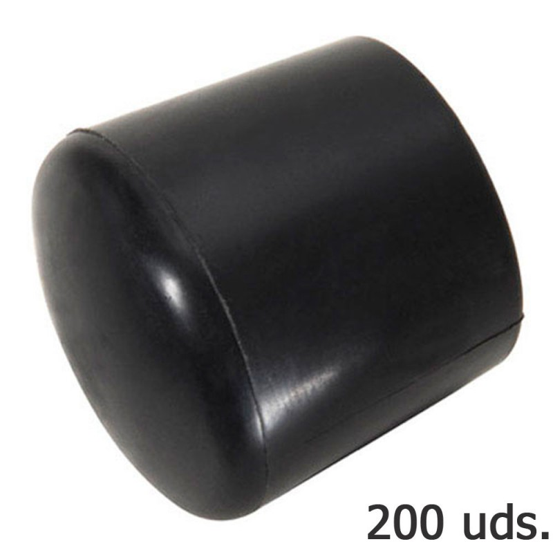 Cone Plastic Round Black Outer 8 MM. Bag 200 PCs