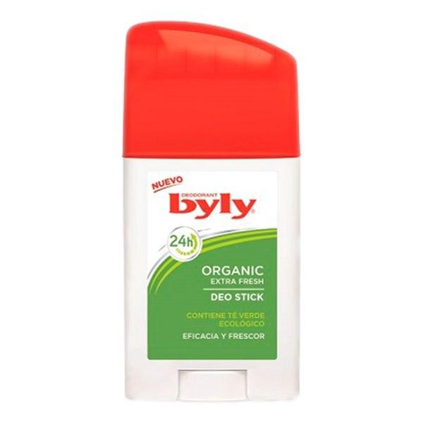 Stick Deodorant Organic Extra Fresh Byly (75 Ml)