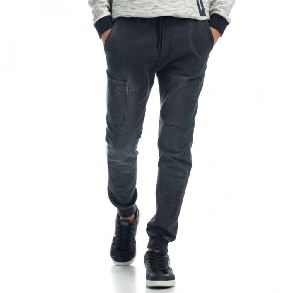 KOROSHI PANT. LONG KNIT DENIM MAN