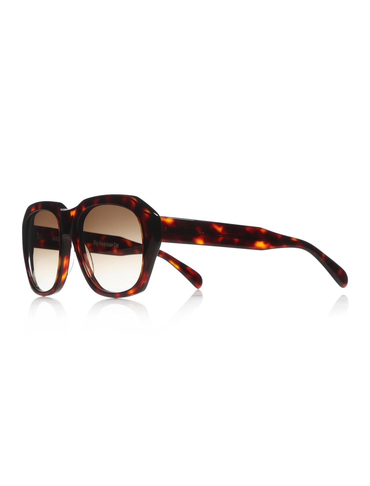 Women's sunglasses msd 2955 132 bone Brown organic square square 54-20-140 massada