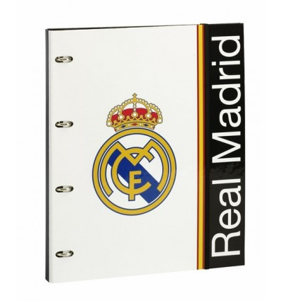 CARP A4 4 ANI C/REFILL REAL MADRID