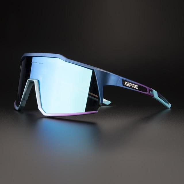 kapvoe Cycling Sunglasses MTB Bicycle Bike Goggles Photochromic Sunglasses UV400 Polarized Women Man Cycling Glasses Eyewear 1