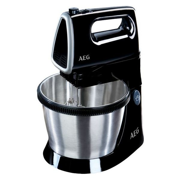 Hand Mixer Aeg SM3300 350W Black Stainless steel title=