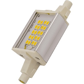 Lamp For Spotlight Ecola Projector LED Lamp Premium 6,0W F78 220V R7S 2700K (alum. Radiator) 78x20x32 J7pw60elc