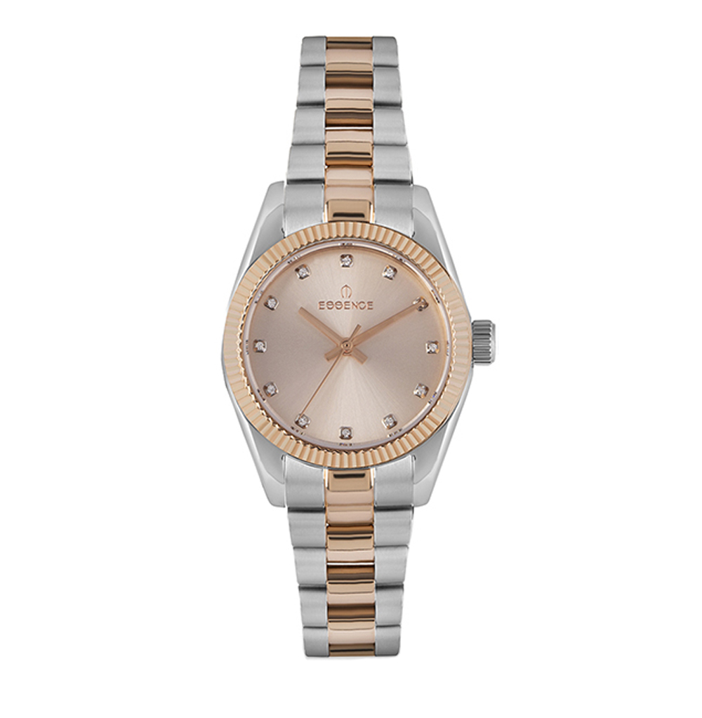 Women's Watch 510 On Steel Bracelet With Partial IP Coating With Mineral Glass Sunlight