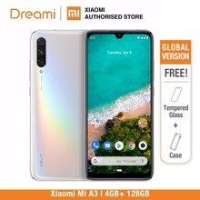 הגלובלי גרסת שיאו Xiaomi mi A3 128GB ROM 4GB RAM (חדש לגמרי וחתום) mi a3 128gb האחרון הגעה