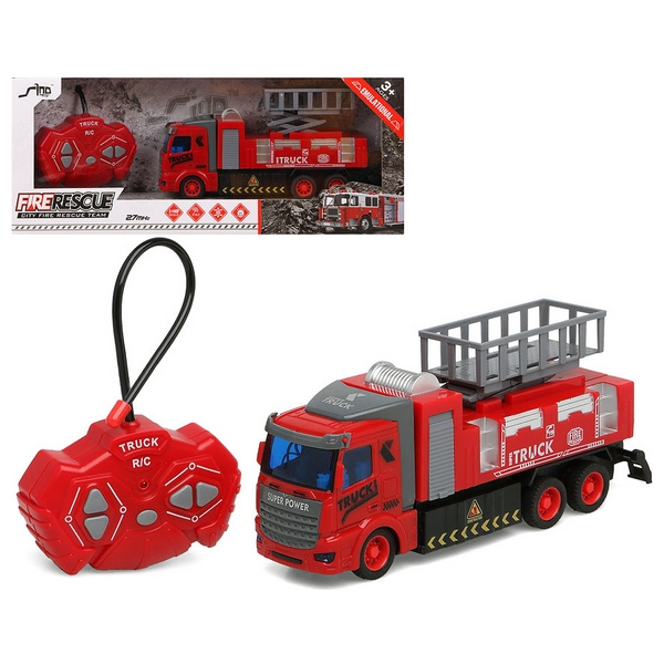 Fire Engine Rescue Team Remote-controlled 111965