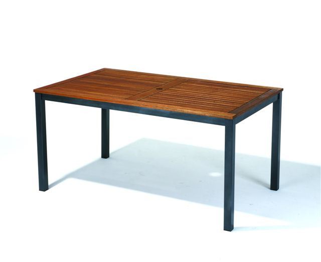 Chillvert Garden Table Lynx Eucalyptus Wood Fsc And Aluminum 150 Cm X 90 Cm X 74 Cm -50021001170194