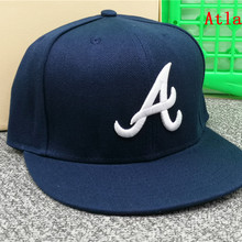 Fitted-Hats Baseball-Caps Gorra Hip-Hop-Letter Atlanta Peak Cool Flat Adult Men Women