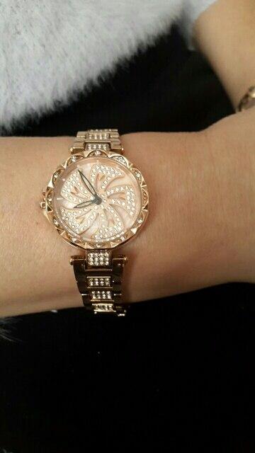 DOM Women Quartz Watches Stylish Fashion Diamond Female Wristwatch Luxury Brand Waterproof watch women gold G-1258GK-9MF