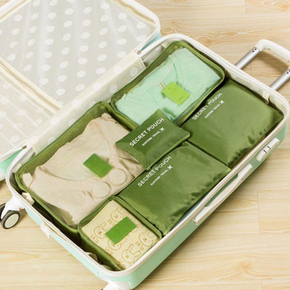 Местный запас 6 шт. водонепроницаемые дорожные сумки одежда чемодан Органайзер сумка Упаковка распродажа - Цвет: 1