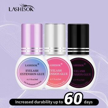 Lash Glue 5ml/10ml 1-2 S Fast Dry Eyelash Glue Eyelash Extension Glue Individual Eyelash Glue Adhesive Retention 6-9 weeks недорого