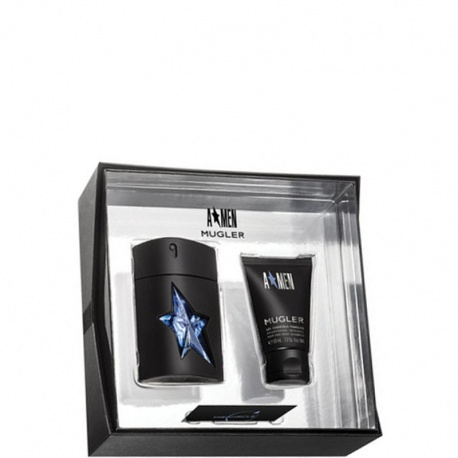 A * MEN RUBBER EDT SPRAY 50ML + GEL FOR HAIR AND BODY 50ML