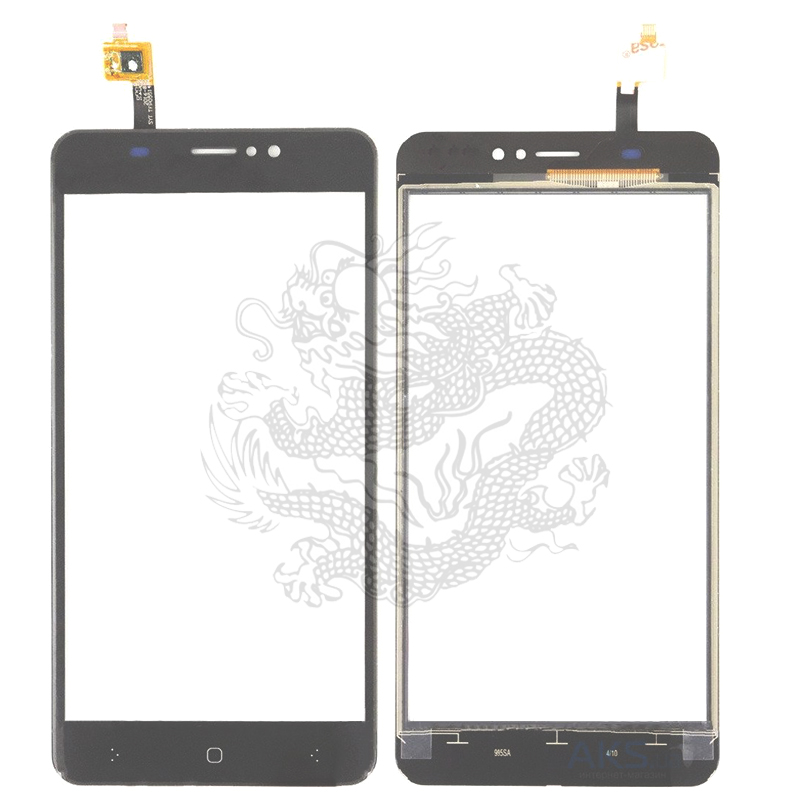 For S-tell M556 Touch Screen Panel Digitizer Front Glass Lens Sensor Accessories With Flex Cable