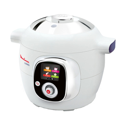 Robot kuchenny obsługi Moulinex CE704110 biały w Multicookery od AGD na