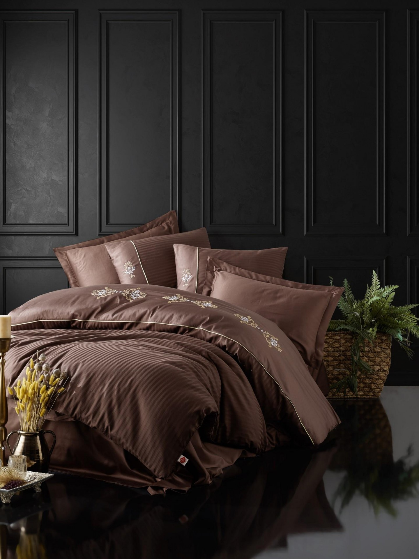 Estilo mercados luxo conjunto de cama lençol conjunto novo jogo de cama