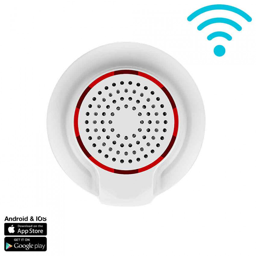 Mermaid High Power WiFi For Sensors And Alarms Via Smartphone/APP 7hSevenOn Home