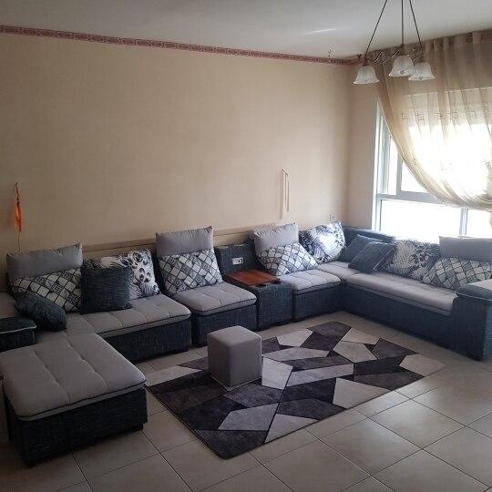 Luxury Fabric Sofa Set