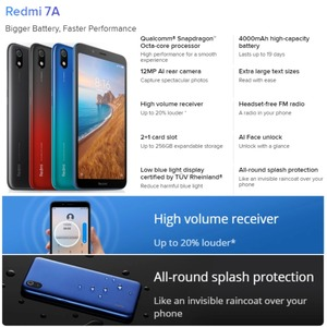 Image 3 - Global Version Xiaomi Redmi 7A 16GB ROM 2GB RAM (Brand New and Sealed) 7a 16gb