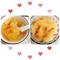 冬天最棒的止咳药—枸杞苹果甜水的做法图解7