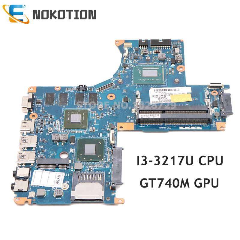 NOKOTION VFKTA LA-9861P K000151750 Mainboard For Toshiba Satellite S40 S40-A laptop motherboard DDR3 I3-3217U CPU GT740M GPU title=