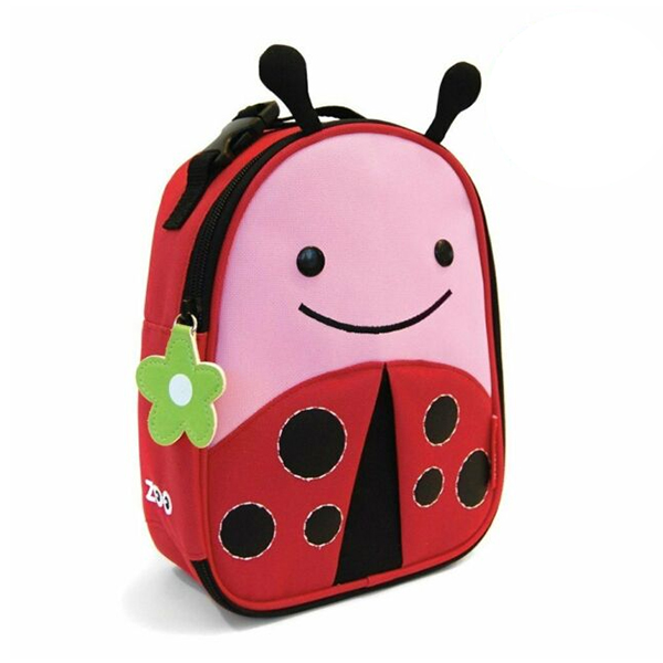 Thermal Lunchbox Nikidom Ladybug Red