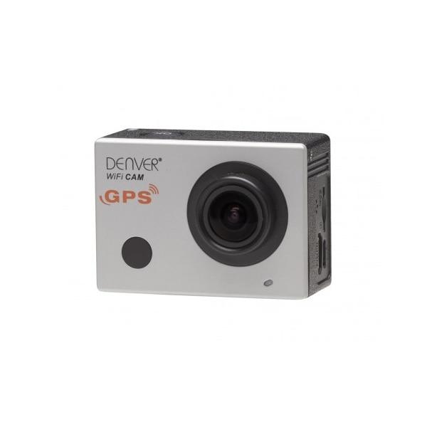 Sports Camera Denver Electronics ACG 8050W 16 Mpx FULL HD Black Silver CCTV Accessories     - title=