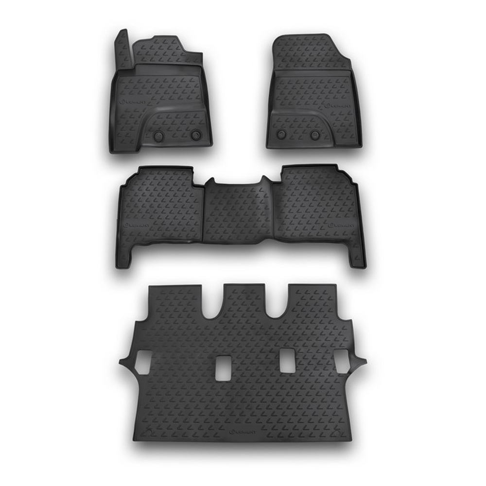 Floor Mats For LEXUS LX570, 2012-7, 4 PCs NLC.29.23.210k