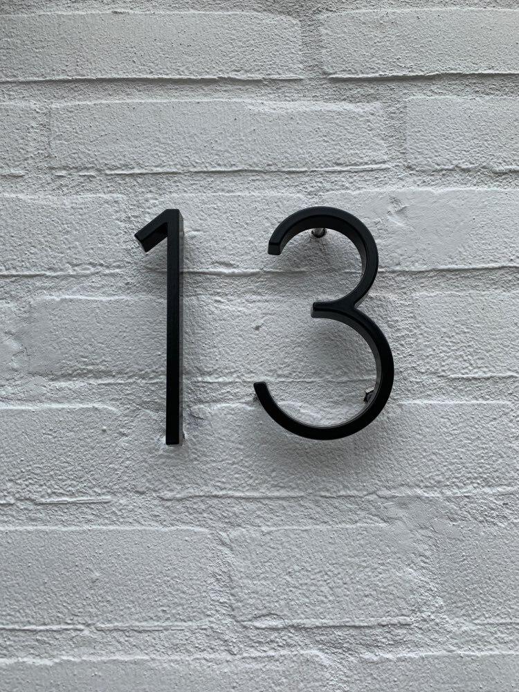 Placas de porta número endereço milímetros