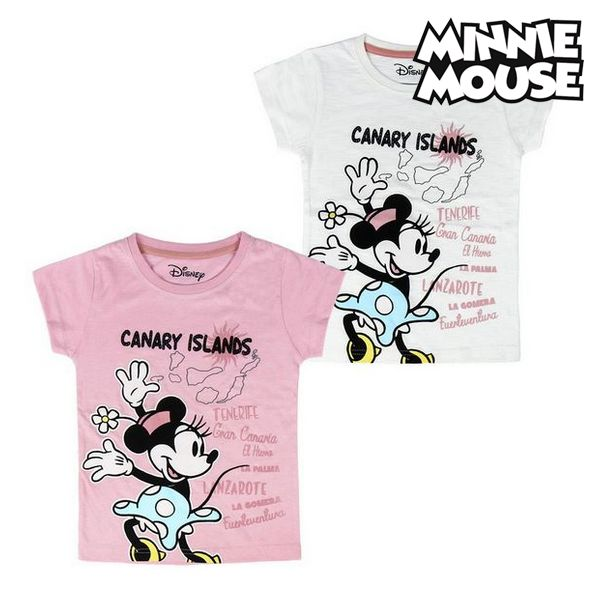 Child's Short Sleeve T Shirt Canary Islands Minnie Mouse 73489 - title=