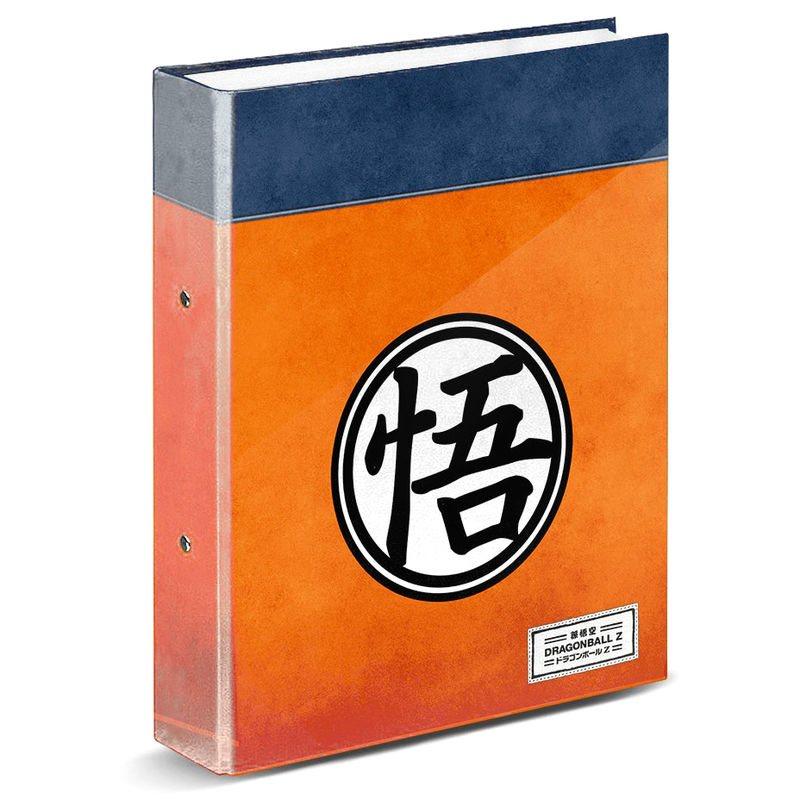 A4 Folder Dragon Ball Symbol Connectors 33x28x5 Cm.