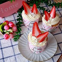 草莓纸杯蛋糕的做法图解23