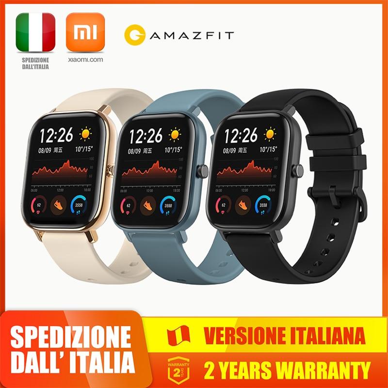 Xiaomi Huami Amazfit Gts Slimme Horloge 1.6 Inch Amoled 5ATM Scherm Waterdichte Smartwatch 14 Dagen Suqare Batterij Display