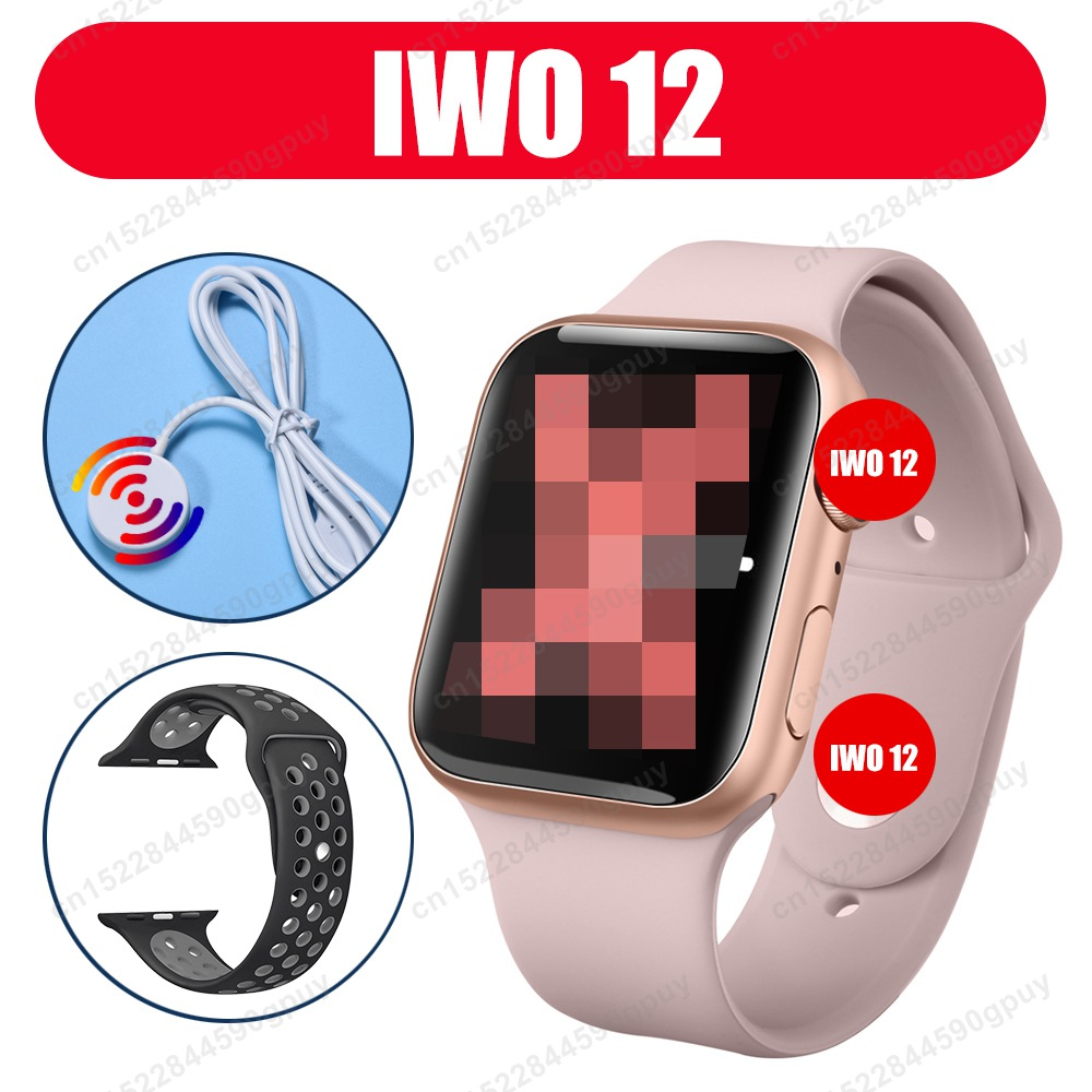 FULCOL Watch 5 <font><b>IWO</b></font> 12 Bluetooth Smart Watch <font><b>1</b></font>:<font><b>1</b></font> SmartWatch 44mm Case For Apple iOS Android Phone Heart Rate PK <font><b>IWO</b></font> 8 10 11 Pro image