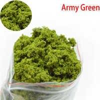 Simulation baum pulver modell spielzeug dunkelgrün HO zug gebäude miniatur DIY szene machen material 50g grüne pflanze tufted