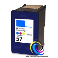 HP N ° 57 XL Color compatible HP57 HP 57 57XL
