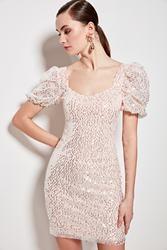 Trendyol Sequined Dress TPRSS20EL0721