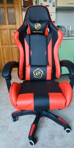 WCG computer chair furniture chair play Free shipping-in Office Chairs from Furniture on AliExpress