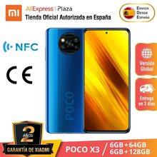 Versión Global POCO X3 (128GB ROM con 6GB RAM, Qualcomm® Snapdragon™ 732G, Android, Nuevo) [Teléfono Móvil Versión Global para España] pocox3
