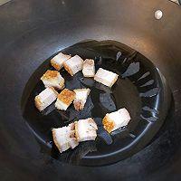 宅家吃多了,来款刮油神器,给肠道洗个澡→芥兰炒烧肉的做法图解5