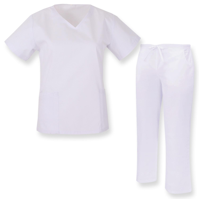 JACKET And PANT NECK REFURBISHED Sanitaries UNIFORMS UNIFORM MEDICOS-Ref. Q81828