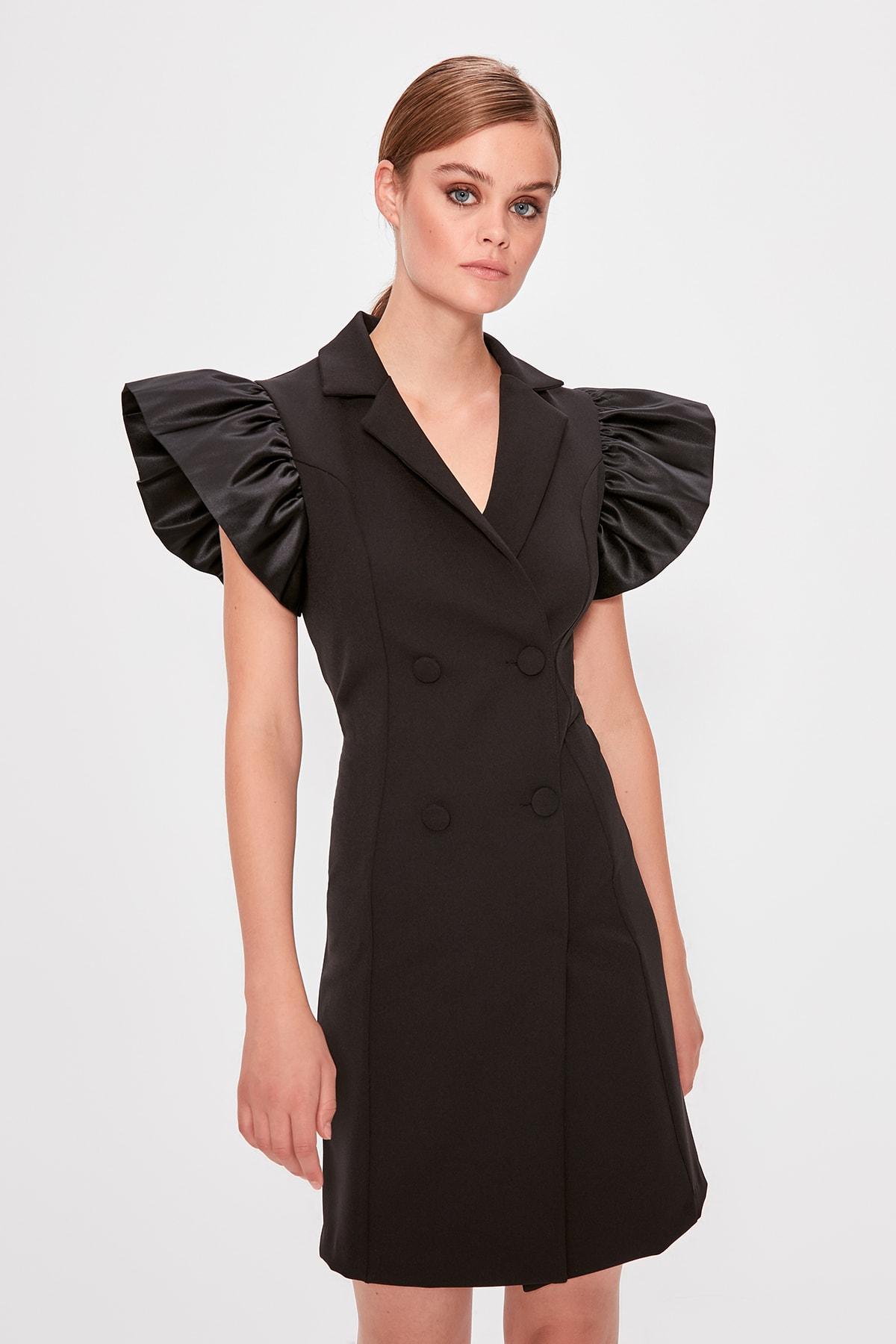Trendyol Sleeve Detail Dress TPRAW20EL0638
