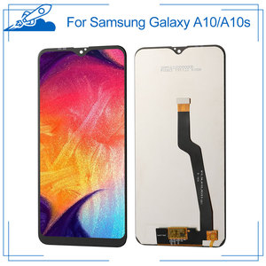 100% OEM IPS LCD For Samsung Galaxy A10 A10s LCD Touch Screen amoled Display Digitize Assembly Replacement Frame NO Dead Pixel