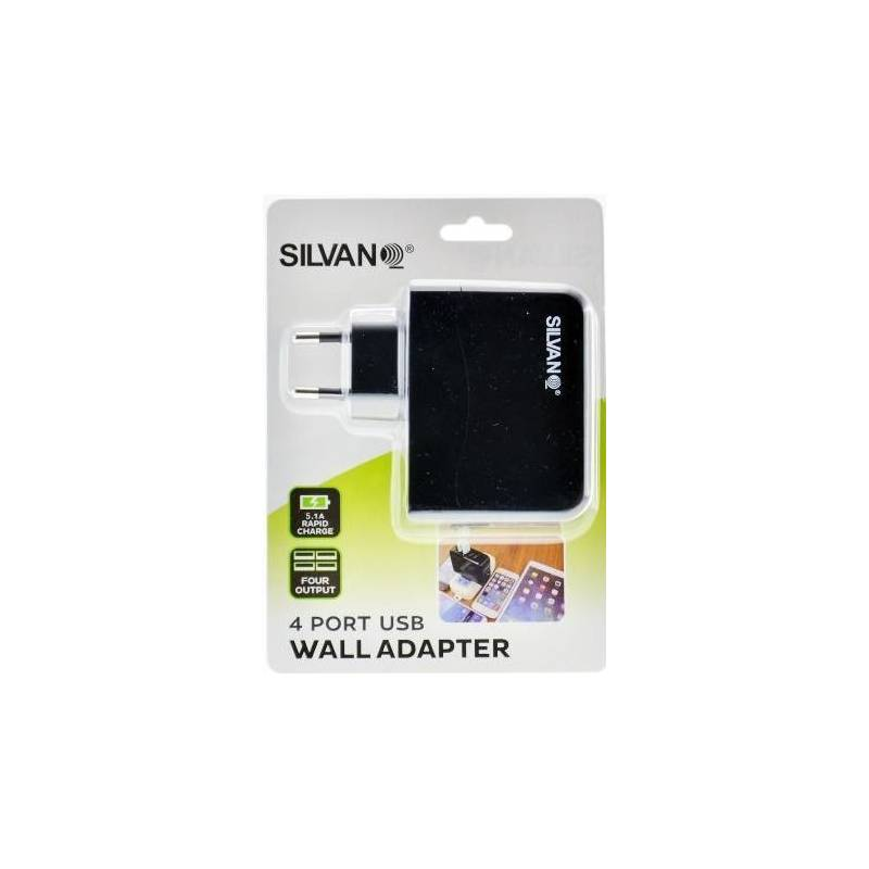 Wall Charger With 4 Usb Ports