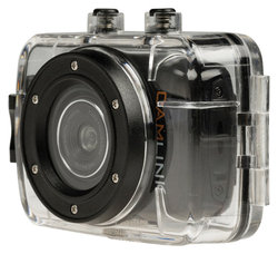 Camlink HD action Camera 720p with 2 inch touch screen, ideal for leisure sports resistant