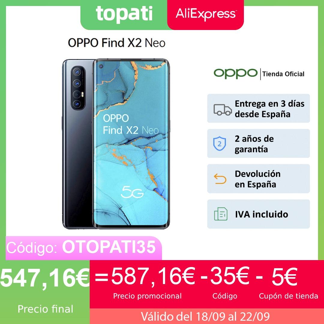 """OPPO Find X2 Neo 12GB/256GB, Smartphone, Pantalla 6.5"""", CPU SDM765G, ColorOS 7 (Android 10), VOOC 4.0, 2 Años de Garantía Teléfonos móviles  - AliExpress"""