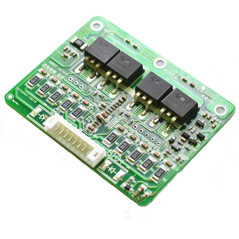 Taidacent 30A 4-10S 2.4V Lithium Ion Battery Protection Circuit Programmable Lithium Battery BMS Circuit Passive Cell Balancing